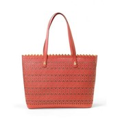 Gernanium Leather Tote NOW $72