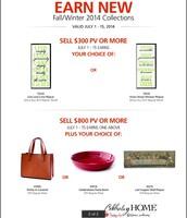 Earn New Fall Catalog Merchandise