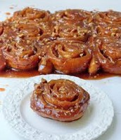 One newly added items on the menu is our delicious Cinnamon  pecan Rolls!