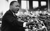 MLK Jr. Giving A Speech