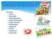 FORMAL GREETINGS 2