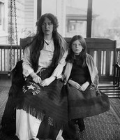 Charlotte Collyer and her daughter Marjorie