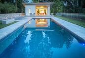 Modern Backyard Pool