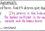 11-1 Intro To Polynomials