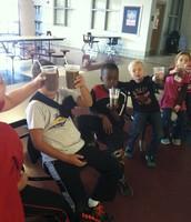 Kids love club day!