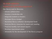 Standard II. Learner-Centered Program Leadership and Management