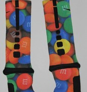 los calcetines m&ms