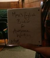 Max's Binder-Signed by Sarah Kay