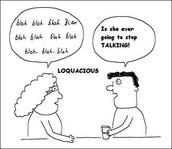 Loquacious Lady