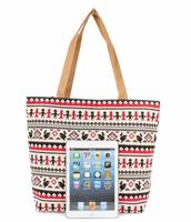 Casual Beach Pattern Shopping Bag