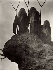 The witches take blame for Macbeth's fall