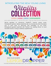 HAVE YOU HEARD ABOUT THE VITALITY COLLECTION?!?