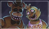 Freddy and Chica