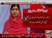Malala on TV