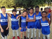 1st Boys Cross Country Meet