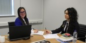 Year 11 6th Form interviews!