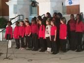MLES Chorus at First Friday Celebration