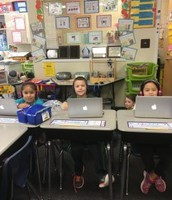 We love working on iReady at the Computer station!