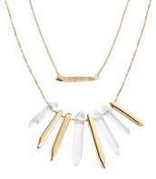 Rebel Cluster Necklace - Gold