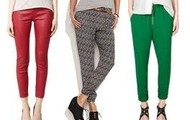 Red Grey Green pant was the trend for 2011