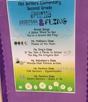 2nd Grade Spring Fling