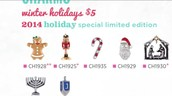 Limited Edition Holiday Charms for 2014