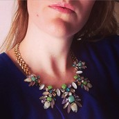 Trellis Statement Necklace