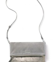Waverly Petite Slate Grey Perf/Brushed Metallic