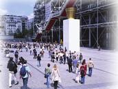Pedestrian only zone in Paris