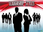 Three main Leadership Styles
