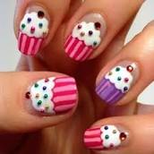 The Cupcake Nails
