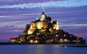 Mont St. Michael In France