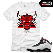Chicago Bull Shirt and Shoes