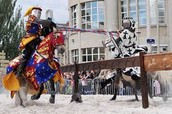 Jousting compeition