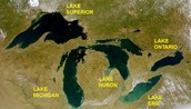 Factors that impacted people to settle in the Great Lakes region
