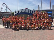 Students at Carowinds