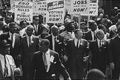 How did the civil rights movement contribute to making the United States a more equal and just society?