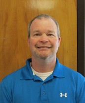 Mike Sheick, PE Teacher on Mondays at Syring