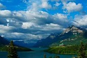 A great veiw of the Waterton Lakes