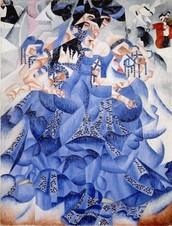 La bailarina azul