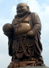 I thought Buddha was fat?