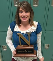 Mrs. Atkinson received the N Award in October