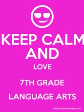 Come to Mrs.Knodle's and Mrs.Heldebrandt's  7th Grade 5th hour Language Class