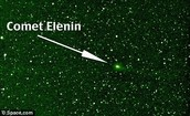 Comets from the earths perspective