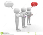Participate and talk, not type!