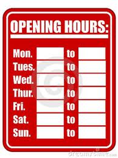 Our tutoring hours.