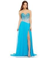 Lo vestido azul cuesta $280.00.