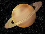 Saturn is a gas giant.