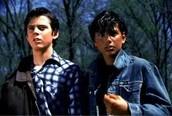 Johnny and Ponyboy