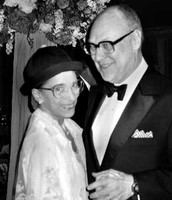 With husband Martin Ginsburg